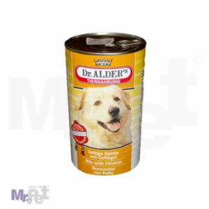 Dr.Alder's hrana za pse Saftige stucke komadići mesa u konzervi 1,2 kg
