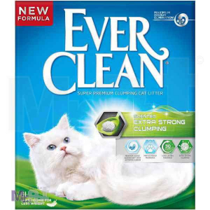 EVER CLEAN posip za mačji toalet Unscented ExtraStrong , sa mirisom, grudvajući