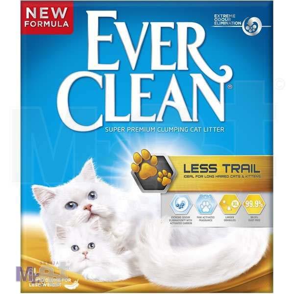 EVER CLEAN posip za mačji toalet LessTrail Long Hair, sa mirisom, grudvajući