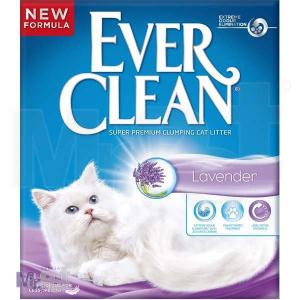 EVER CLEAN posip za mačji toalet Lavander, sa mirisom, grudvajući