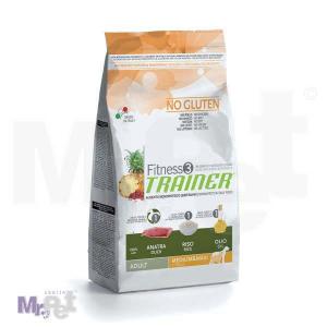 TRAINER Fitness 3 hrana za pse ADULT Medium/maxi, pačetina i pirinač