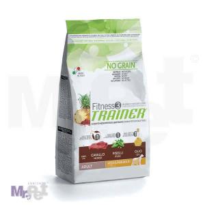 TRAINER Fitness 3 hrana za pse ADULT Medium/maxi, konjetina i grašak