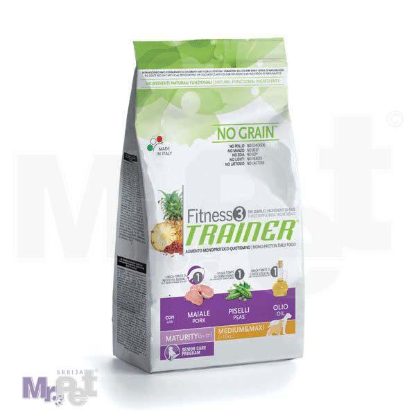 TRAINER Fitness 3 hrana za pse MATURITY Medium/maxi