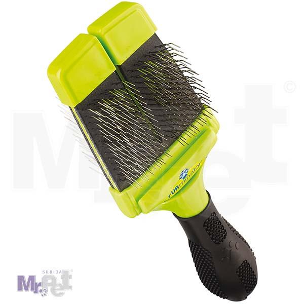 FURminator Grooming Small Soft Slicker Brush 2