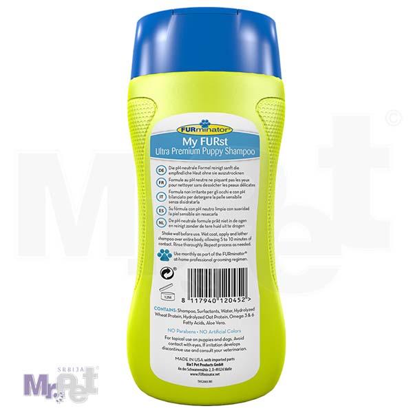 FURminator Hygiene Product Ultra Premium My FURst Puppy Shampoo Back 2