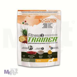 TRAINER Fitness 3 hrana za pse ADULT mini, pačetina i pirinač