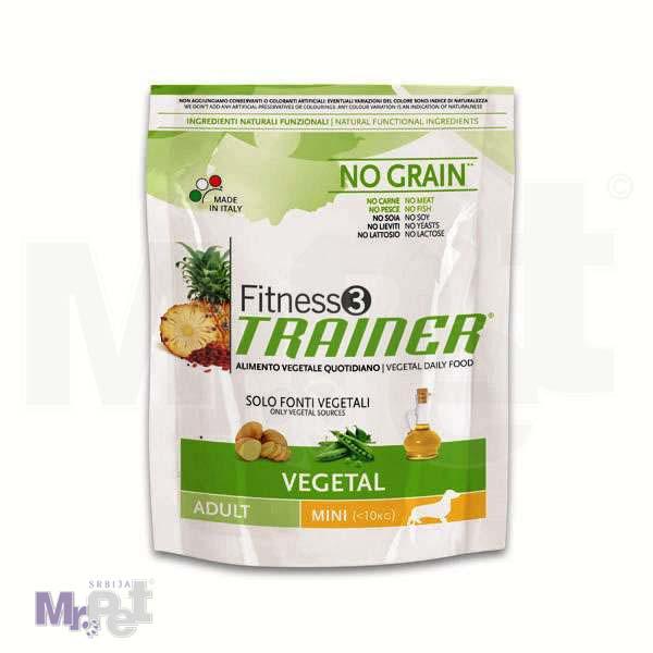 TRAINER Fitness 3 hrana za pse VEGETAL mini