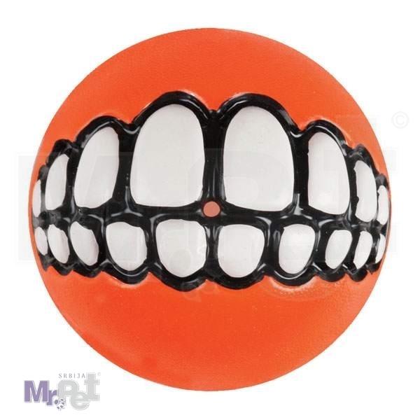 ROGZ igračka za pse fluroscentna lopta L