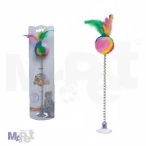 CROCI igračka za mačke pecaljka na opruzi 29 cm