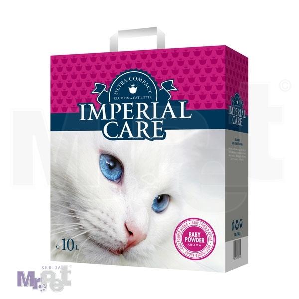 IMPERIAL CARE pesak za mačji toalet 10 l Clumping