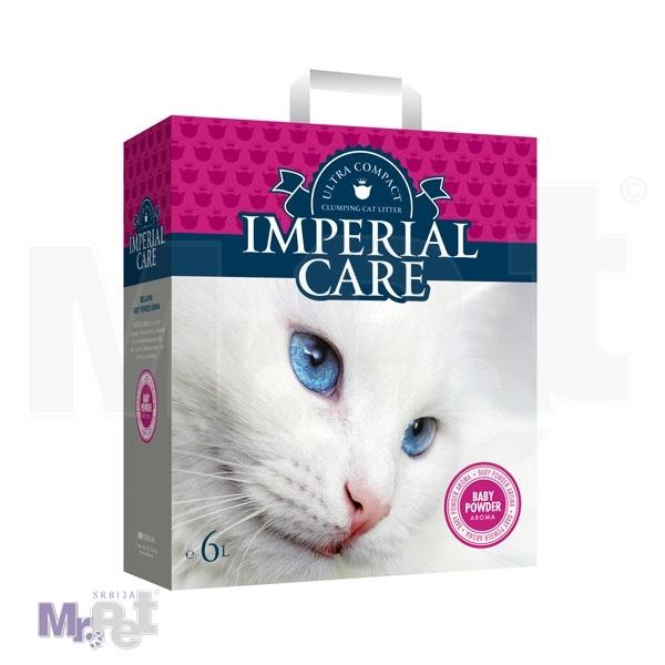 IMPERIAL CARE pesak za mačji toalet 6 l Clumping
