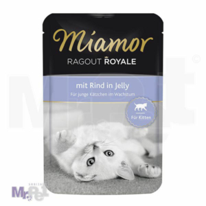 Miamor Kraljevski Ragu- kesica u želeu - Kitten
