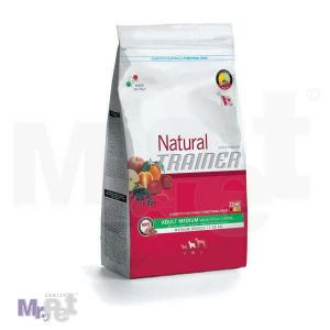 TRAINER Natural hrana za pse Adult MEDIUM govedina, pirinač i Ženšen
