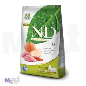 N&D Grain Free Hrana za pse Mini Adult, divlja svinja i jabuka