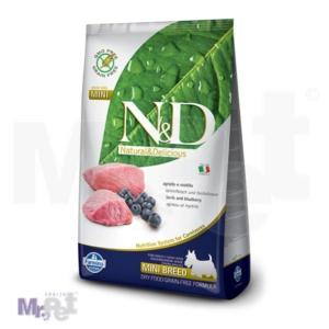 N&D Grain Free Hrana za pse Mini Adult, jagnjetina i borovnica