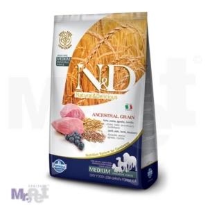N&D Low Grain Hrana za pse Medium Adult, Jagnjetina i Borovnica