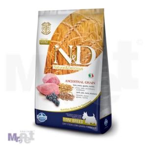 N&D Low Grain Hrana za pse Mini Adult, Jagnjetina i Borovnica