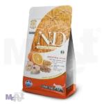 N&D Low Grain Hrana za odrasle mačke Bakalar i Pomorandža