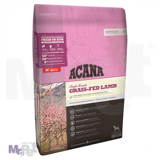 Acana SINGL Grass-Fed Lamb monoproteinska hrana za pse 340 g