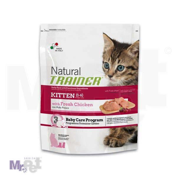 TRAINER Natural hrana za mačiće KITTEN piletina