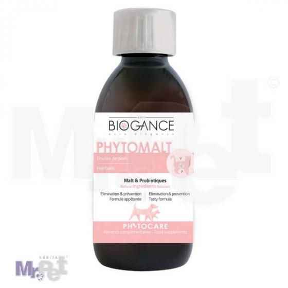 Biogance dodatak ishrani Phytocare Phytomalt - izbacivanje dlake 200 ml