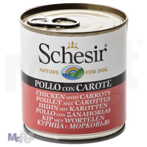 SCHESIR DOG hrana za pse piletina i šargarepa 285 g
