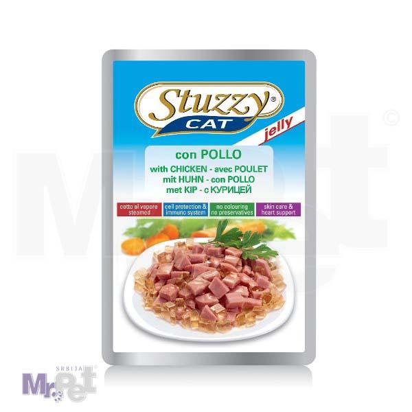 STUZZY Cat hrana za mačke preliv piletina u želeu