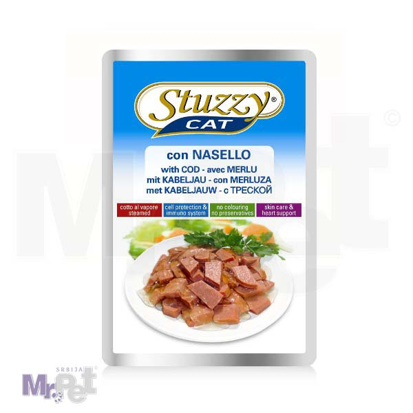 STUZZY Cat hrana za mačke preliv bakalar