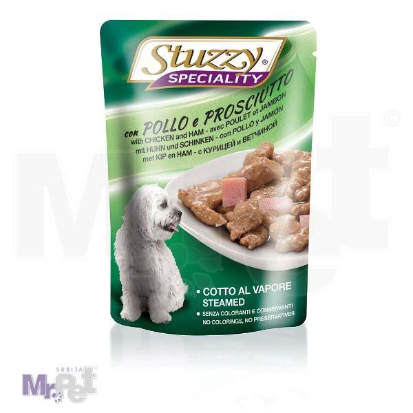 STUZZY Dog hrana za pse Speciality pile-šunka