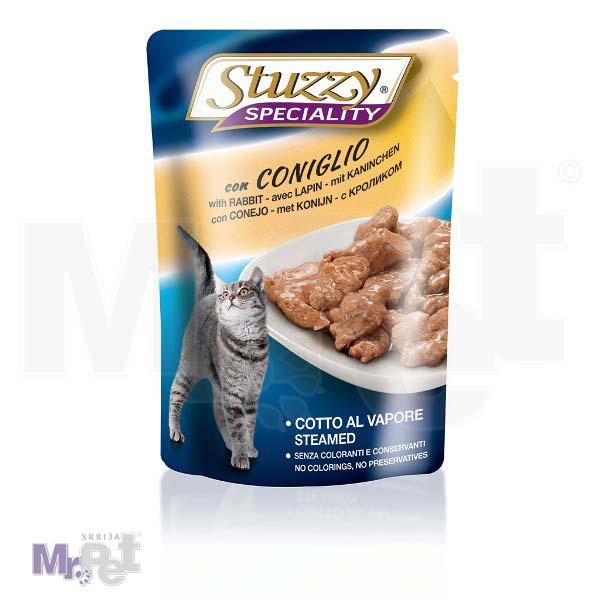 STUZZY Cat hrana za mačke preliv zečetina u želeu