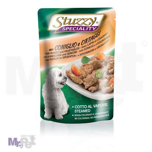 STUZZY Dog hrana za pse Speciality zec-povrće
