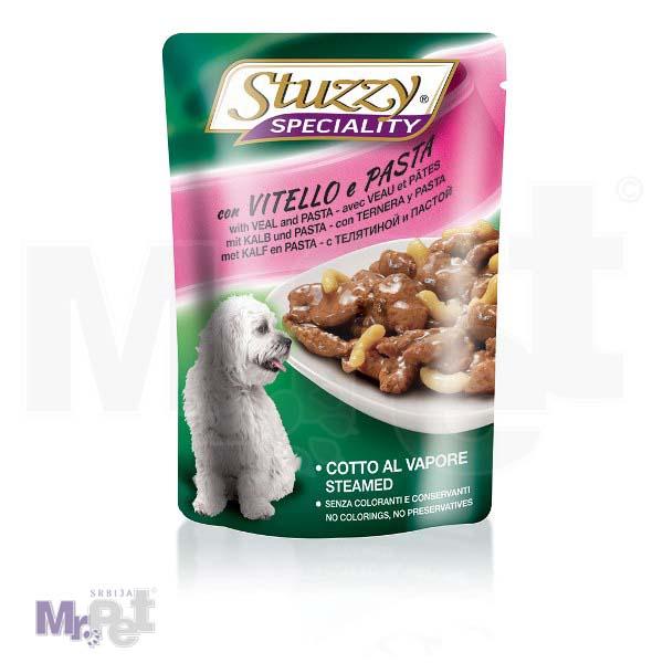 STUZZY Dog hrana za pse Speciality teletina-pasta