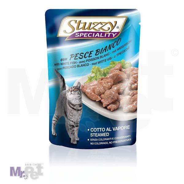 STUZZY Dog hrana za pse Speciality bela riba