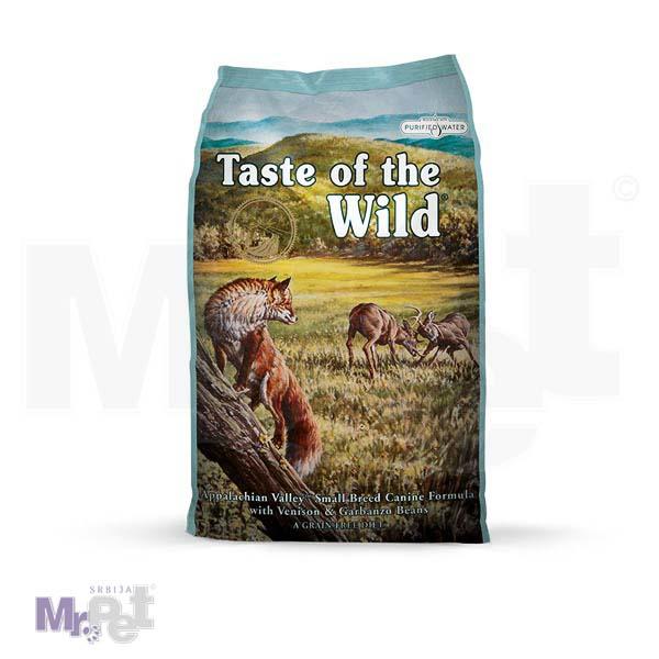 TASTE of the WILD hrana za pse Appalachian Valley Small Breed