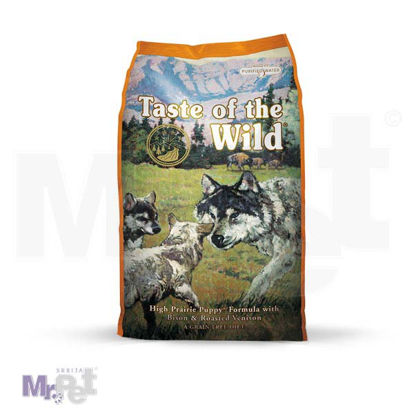 TASTE of the WILD hrana za pse High Prairie Puppy (srna i bizon)