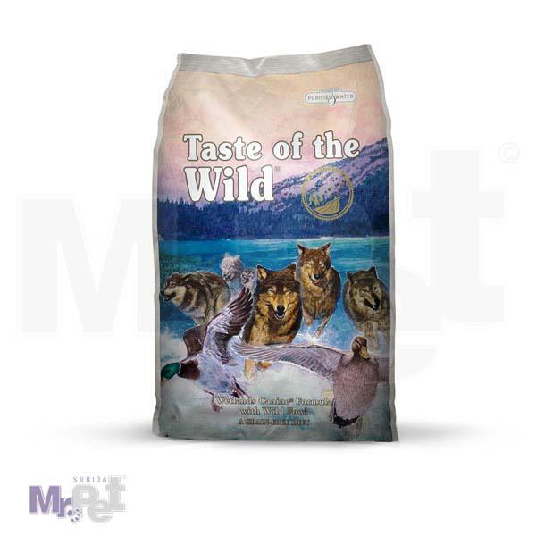 TASTE of the WILD hrana za pse Wetlands Divlja perad (pečeno meso divljih ptica)