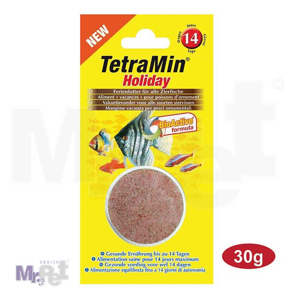 TETRA Vikend hrana za ribice Min Holiday, 30 g
