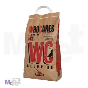 WHO CARES pesak za mačji toalet 5 kg