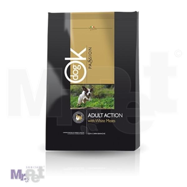 OK PASSION Action hrana za pse s belim mesom