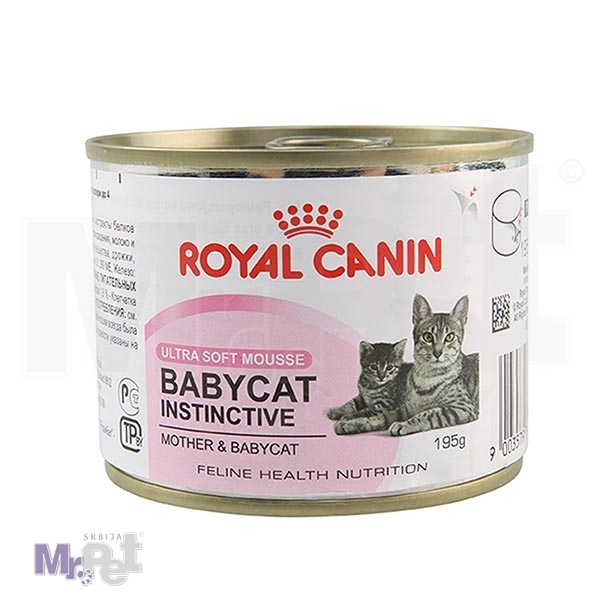 ROYAL Canin hrana za mačke BABYCAT INSTINCTIVE 10, 195 g
