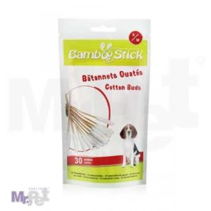 Bamboostick pamučni štapići za uši, S/M 50 kom - zip lock bag