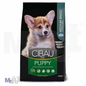 CIBAU Superpremium hrana za pse Puppy Medium formula