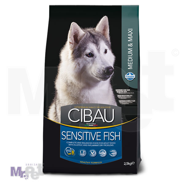 CIBAU Superpremium hrana za pse Fish Sensitive Medium & Maxi