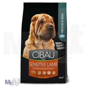 CIBAU Superpremium hrana za pse Lamb Sensitive Medium & Maxi