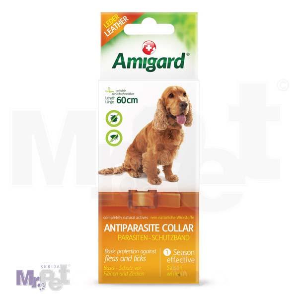 AMIGARD antiparazitska ogrlica za pse