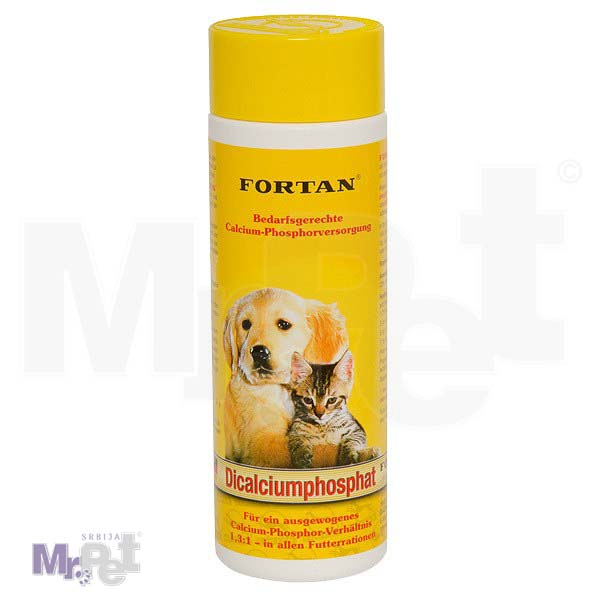 FORTAN dodatak ishrani za pse Dikalcijumfosfat, 600 g