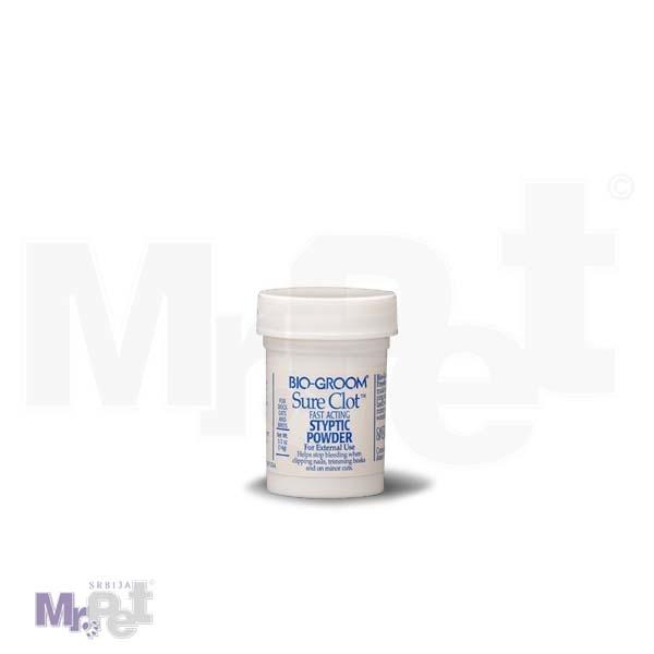 BIOGROOM Puder za posekotine SURE CLOT 15 ml