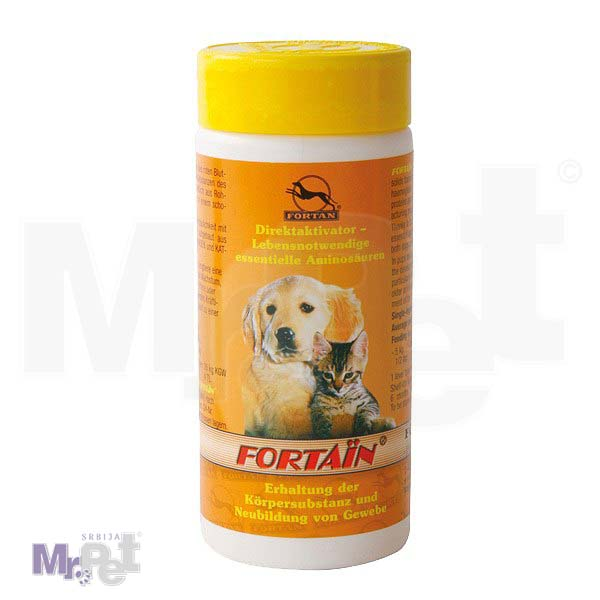 FORTAN dodaci ishrani za ljubimce Fortain, prirodni proteini, 80 g