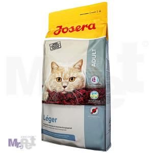 JOSERA hrana za mačke Léger, hrana za lenje mačke 10 kg