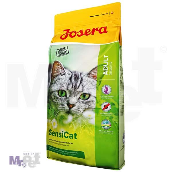 JOSERA hrana za mačke Sensicat, da li je vaša mačka izbirljiva 10 kg
